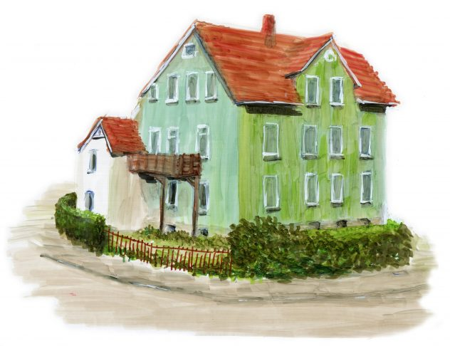 Grünes Haus Anner Ecke