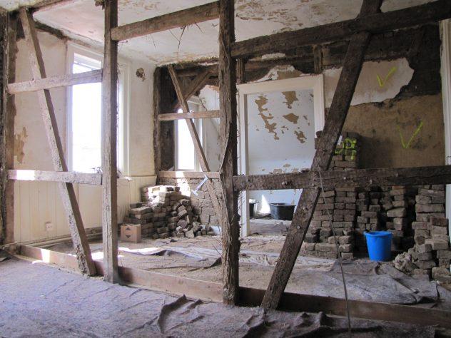 Sehr Bauarbeiten im Obergeschoss – Ein Zwischenbericht – Grünes Haus KF61